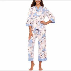 Flora Nikrooz Crop Pants PJ Set
